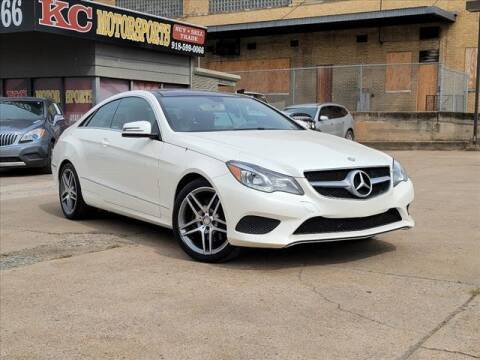 2015 Mercedes-Benz E-Class for sale at KC MOTORSPORTS in Tulsa OK