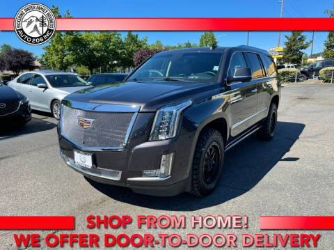 2018 Cadillac Escalade for sale at Auto 206, Inc. in Kent WA