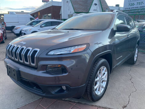 2017 Jeep Cherokee for sale at GO GREEN MOTORS in Denver CO