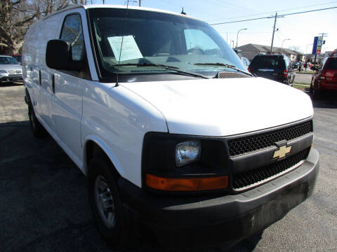 2013 Chevrolet Express Cargo for sale at U C AUTO in Urbana IL