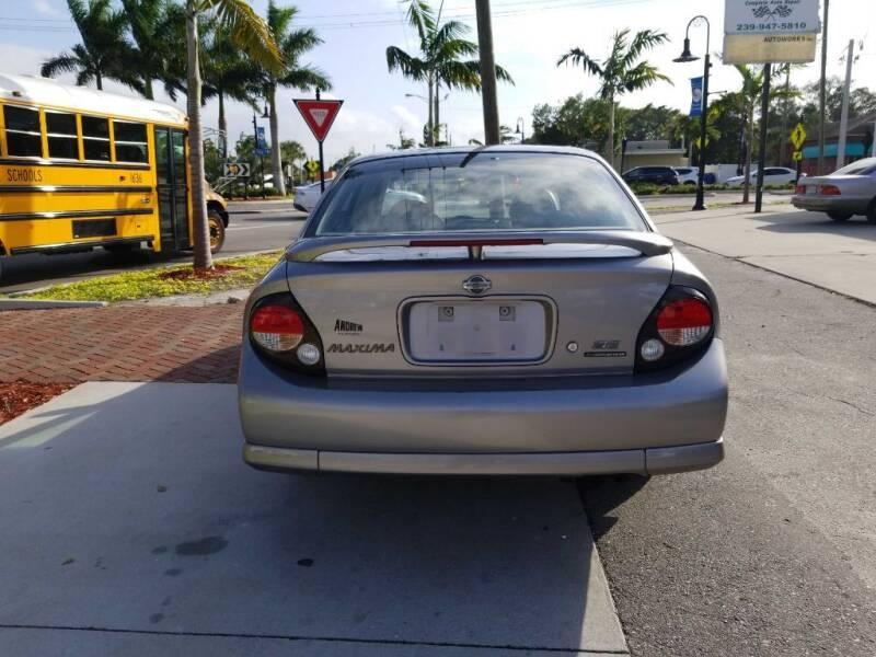 2001 Nissan Maxima GXE 4dr Sedan - Bonita Springs FL