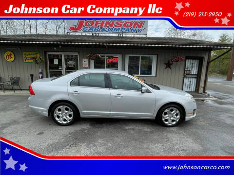 2011 Ford Fusion for sale at Johnson Car Company llc in Crown Point IN
