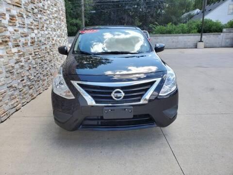 2017 Nissan Versa for sale at Great Ways Auto Finance in Redford MI