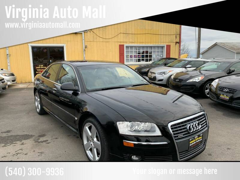 2006 Audi A8 for sale at Virginia Auto Mall in Woodford VA