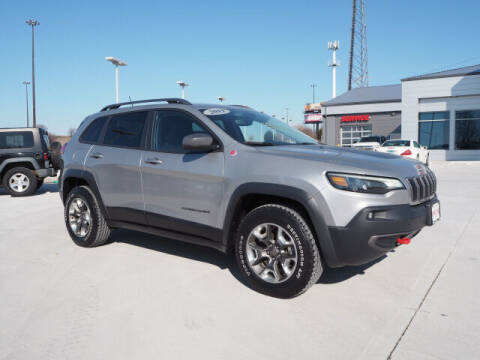 2019 Jeep Cherokee for sale at SIMOTES MOTORS in Minooka IL