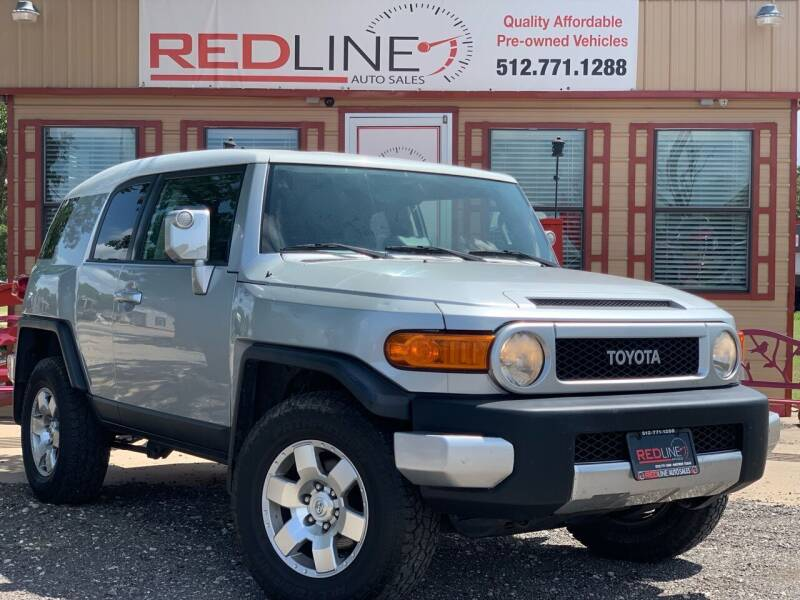 2007 Toyota FJ Cruiser for sale at REDLINE AUTO SALES LLC in Cedar Creek TX