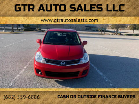 2011 Nissan Versa for sale at GTR Auto Sales LLC in Haltom City TX