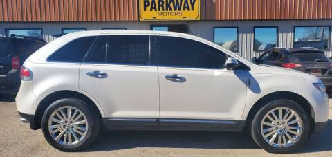 2011 Lincoln MKX for sale at Parkway Motors in Springfield IL