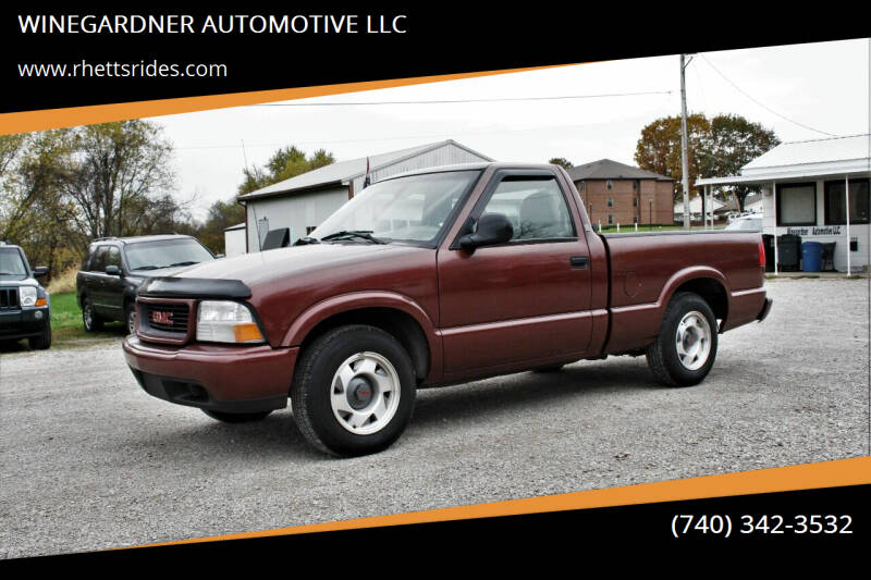 1998 GMC Sonoma for sale at WINEGARDNER AUTOMOTIVE LLC in New Lexington OH