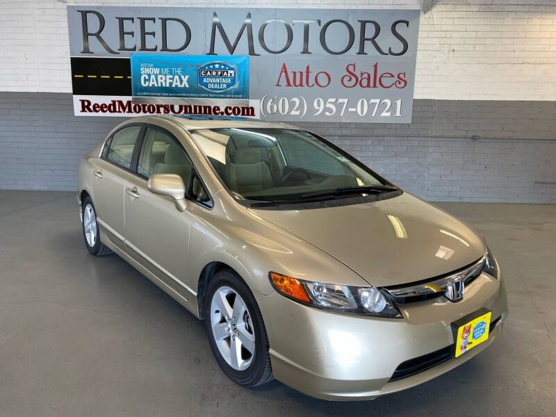 2007 Honda Civic for sale at REED MOTORS LLC in Phoenix AZ