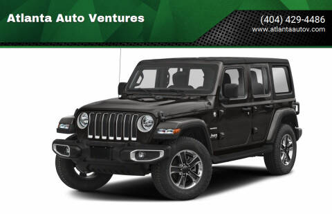 2020 Jeep Wrangler Unlimited for sale at Atlanta Auto Ventures in Roswell GA