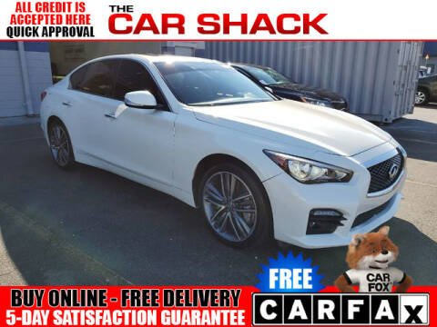2014 Infiniti Q50 for sale at The Car Shack in Hialeah FL