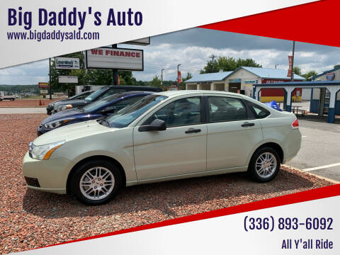 2010 Ford Focus for sale at Big Daddy's Auto in Winston-Salem NC
