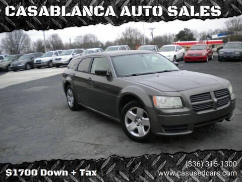 2008 Dodge Magnum for sale at CASABLANCA AUTO SALES in Greensboro NC