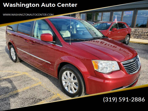 2013 Chrysler Town and Country for sale at Washington Auto Center in Washington IA