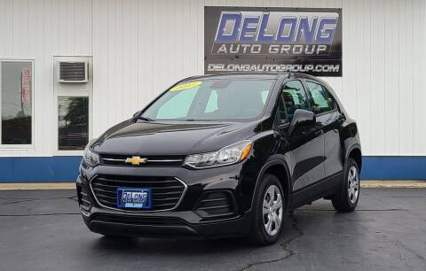 2017 Chevrolet Trax for sale at DeLong Auto Group in Tipton IN