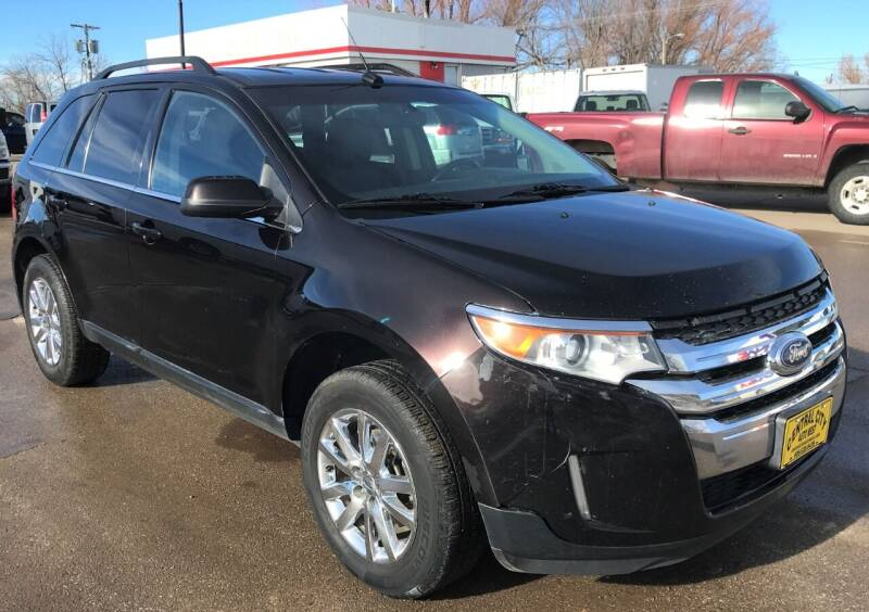 2014 Ford Edge for sale at Central City Auto West in Lewistown MT