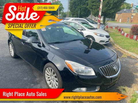 2013 Buick Regal for sale at Right Place Auto Sales in Indianapolis IN