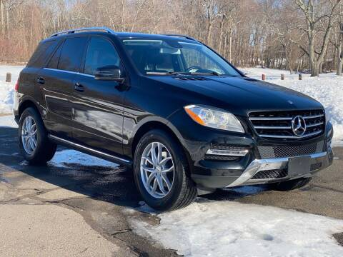 2014 Mercedes-Benz M-Class for sale at Choice Motor Car in Plainville CT