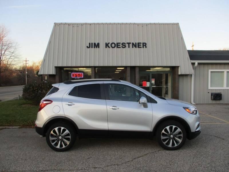 2017 Buick Encore for sale at JIM KOESTNER INC in Plainwell MI