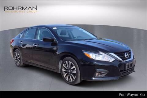 2018 Nissan Altima for sale at BOB ROHRMAN FORT WAYNE TOYOTA in Fort Wayne IN