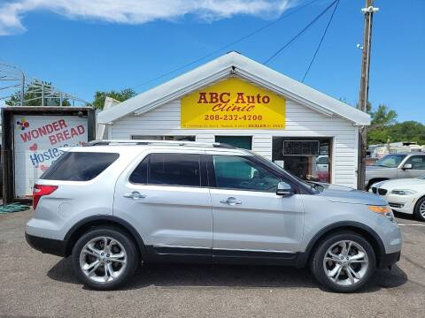 2014 Ford Explorer for sale at ABC AUTO CLINIC in Chubbuck ID