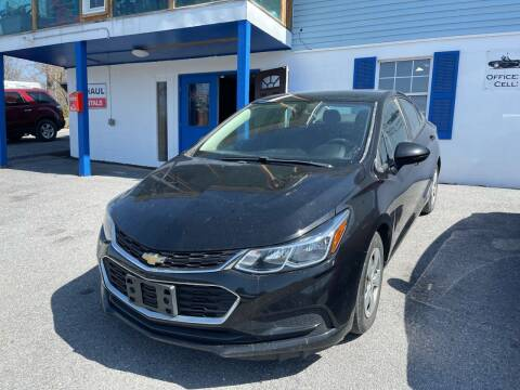 2017 Chevrolet Cruze for sale at Noble PreOwned Auto Sales in Martinsburg WV
