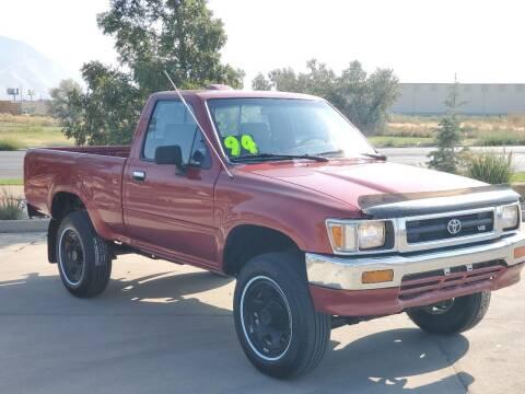 1994 Toyota Pickup for sale at FRESH TREAD AUTO LLC in Springville UT
