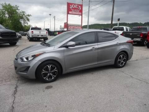 2015 Hyundai Elantra for sale at Joe's Preowned Autos in Moundsville WV