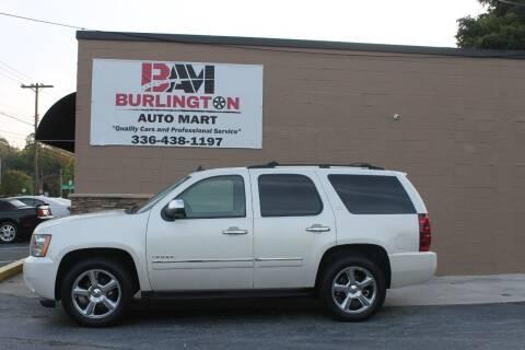 2012 Chevrolet Tahoe for sale at Burlington Auto Mart in Burlington NC