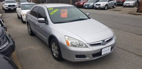 2006 Honda Accord for sale at Howe's Auto Sales in Lowell MA