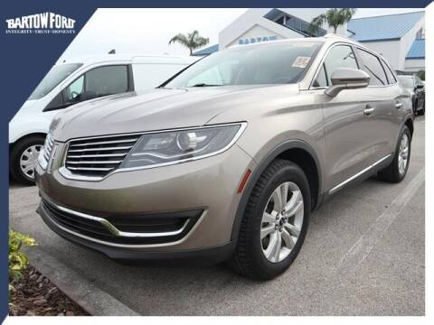 2018 Lincoln MKX for sale at BARTOW FORD CO. in Bartow FL