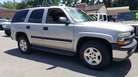2004 Chevrolet Tahoe for sale at Rodgers Enterprises in North Charleston SC