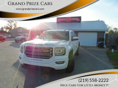2017 GMC Sierra 1500 for sale at Grand Prize Cars in Cedar Lake IN