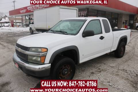 2007 Chevrolet Colorado for sale at Your Choice Autos - Waukegan in Waukegan IL