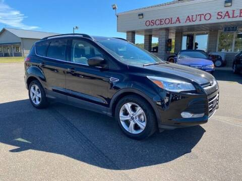 2016 Ford Escape for sale at Osceola Auto Sales and Service in Osceola WI