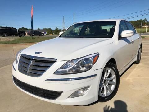 2012 Hyundai Genesis for sale at Gwinnett Luxury Motors in Buford GA