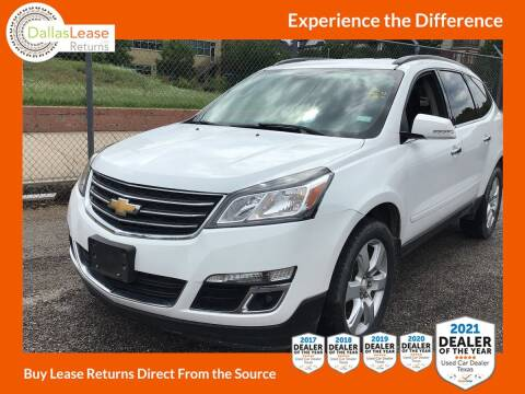 2017 Chevrolet Traverse for sale at Dallas Auto Finance in Dallas TX