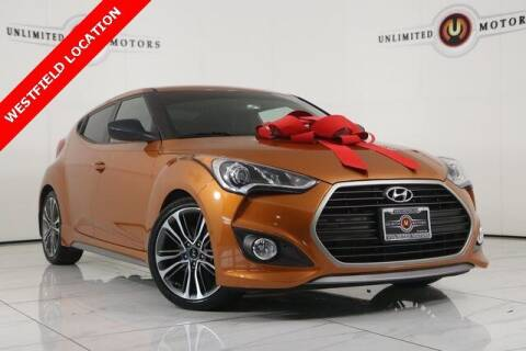 2016 Hyundai Veloster for sale at INDY'S UNLIMITED MOTORS - UNLIMITED MOTORS in Westfield IN