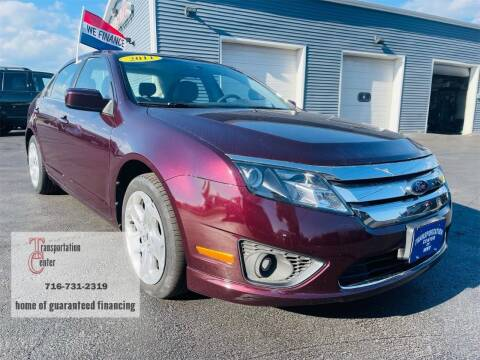 2011 Ford Fusion for sale at Transportation Center Of Western New York in Niagara Falls NY