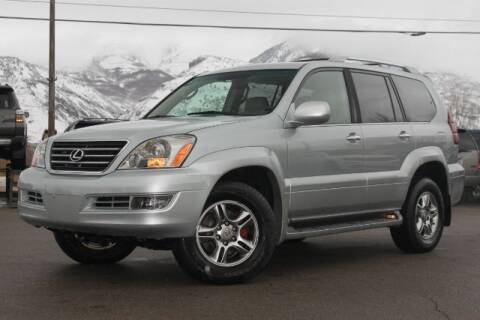 2008 Lexus GX 470 for sale at REVOLUTIONARY AUTO in Lindon UT