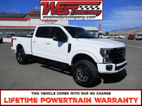 2020 Ford F-350 Super Duty for sale at West Motor Company in Hyde Park UT