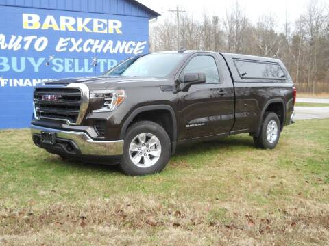 2019 GMC Sierra 1500 for sale at BARKER AUTO EXCHANGE in Spencer IN