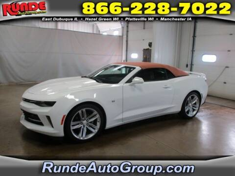 2017 Chevrolet Camaro for sale at Runde Chevrolet in East Dubuque IL