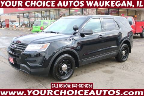 2018 Ford Explorer for sale at Your Choice Autos - Waukegan in Waukegan IL