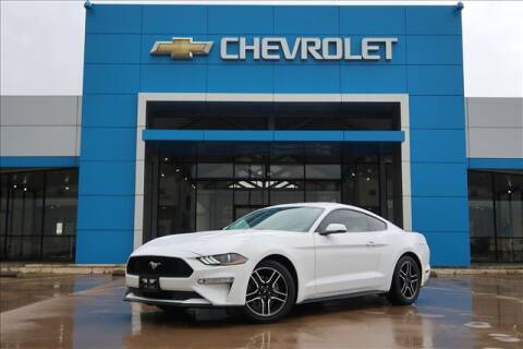 2018 Ford Mustang for sale at Lipscomb Auto Center in Bowie TX
