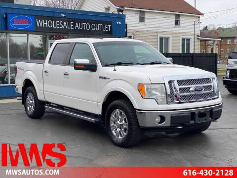 2010 Ford F-150 for sale at MWS Wholesale  Auto Outlet in Grand Rapids MI