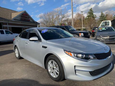 2018 Kia Optima for sale at A 1 Motors in Monroe MI