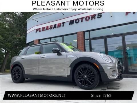 2018 MINI Clubman for sale at Pleasant Motors in New Bedford MA