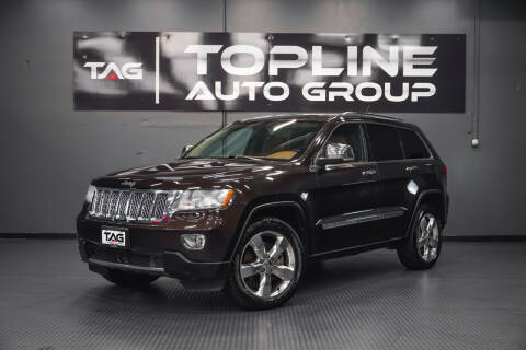 2011 Jeep Grand Cherokee for sale at TOPLINE AUTO GROUP in Kent WA